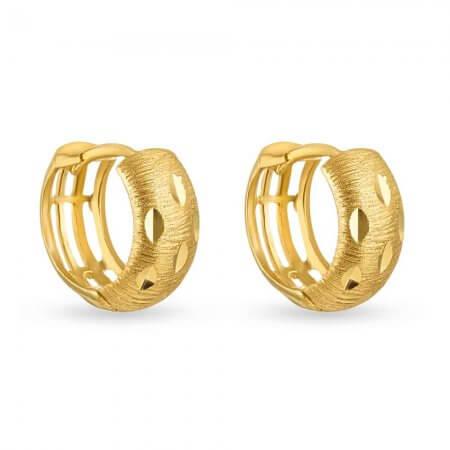 30751 - 22 Carat Gold Hoop Earrings Uk