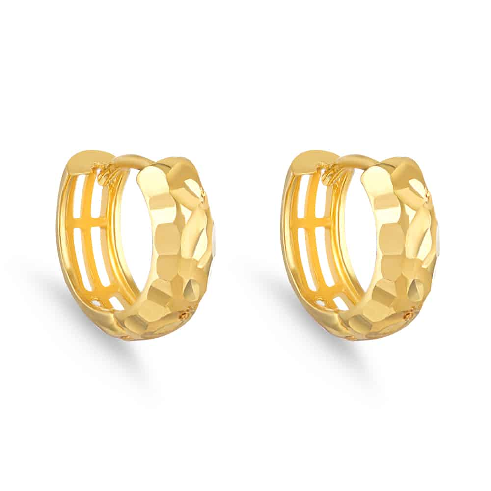 30752 - 22 Carat Indian Gold Bali Earrings