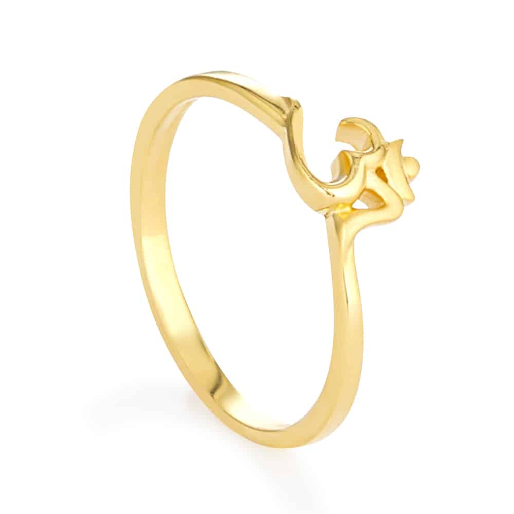 30754 - Indian Gold Rings For Women