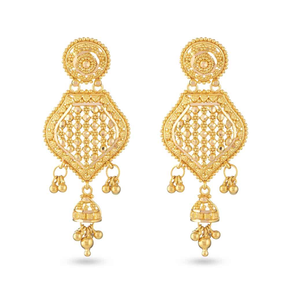 30812 - Asian Bridal Earring UK
