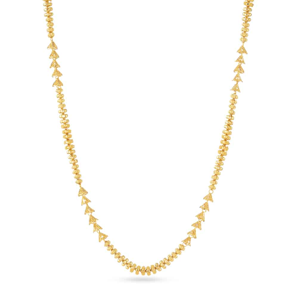 30847 - 22ct Yellow Gold Mala Necklace