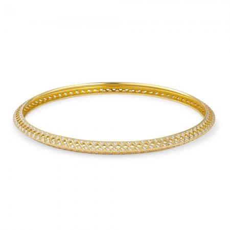 30649 - 22ct Gold Ladies Bangle