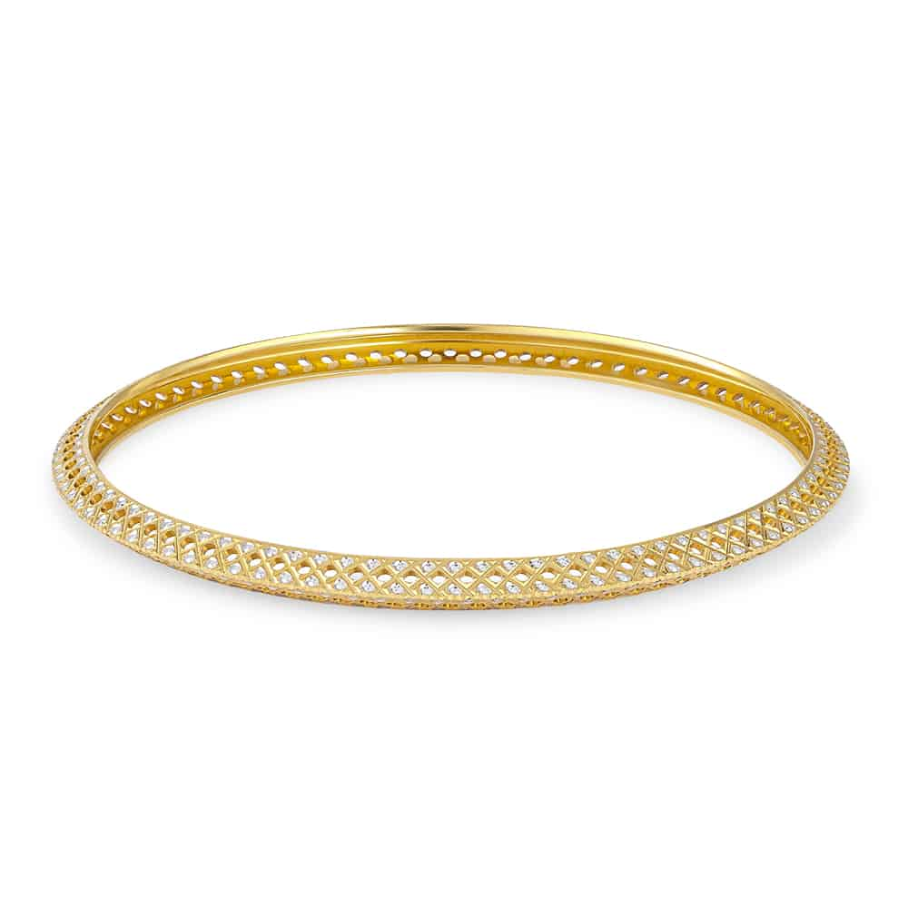 30649 - 22ct Gold Ladies Bangle