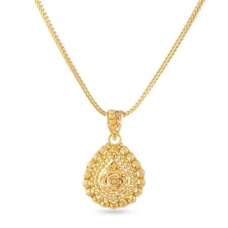 30827 - 22 Carat Gold Filigree Pendant
