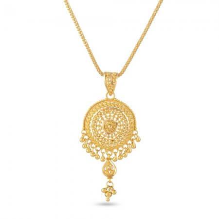 30829 - 22 Carat Gold Filigree Pendant