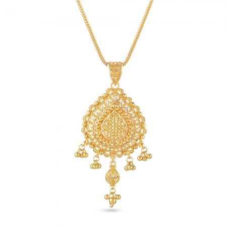 30831 - 22 Carat Gold Filigree Pendant