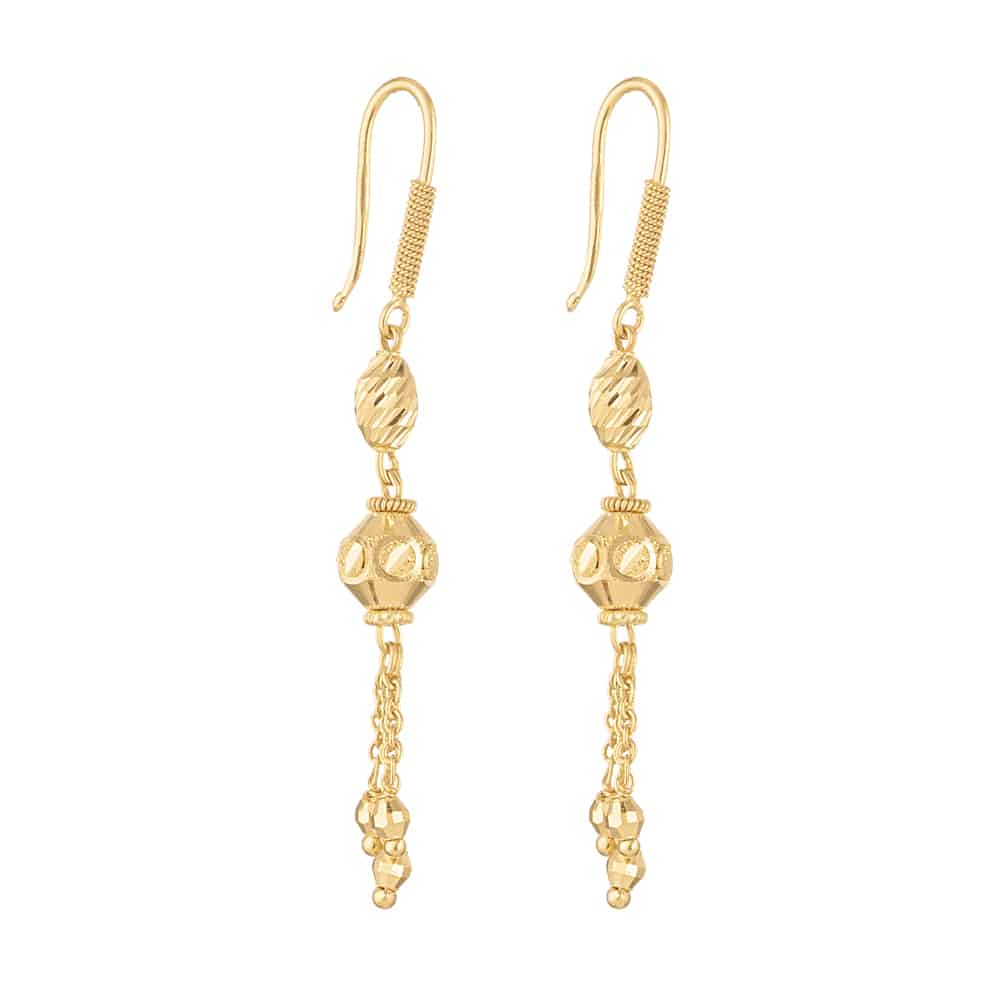 30880 - 22ct Gold Earring for Ladies