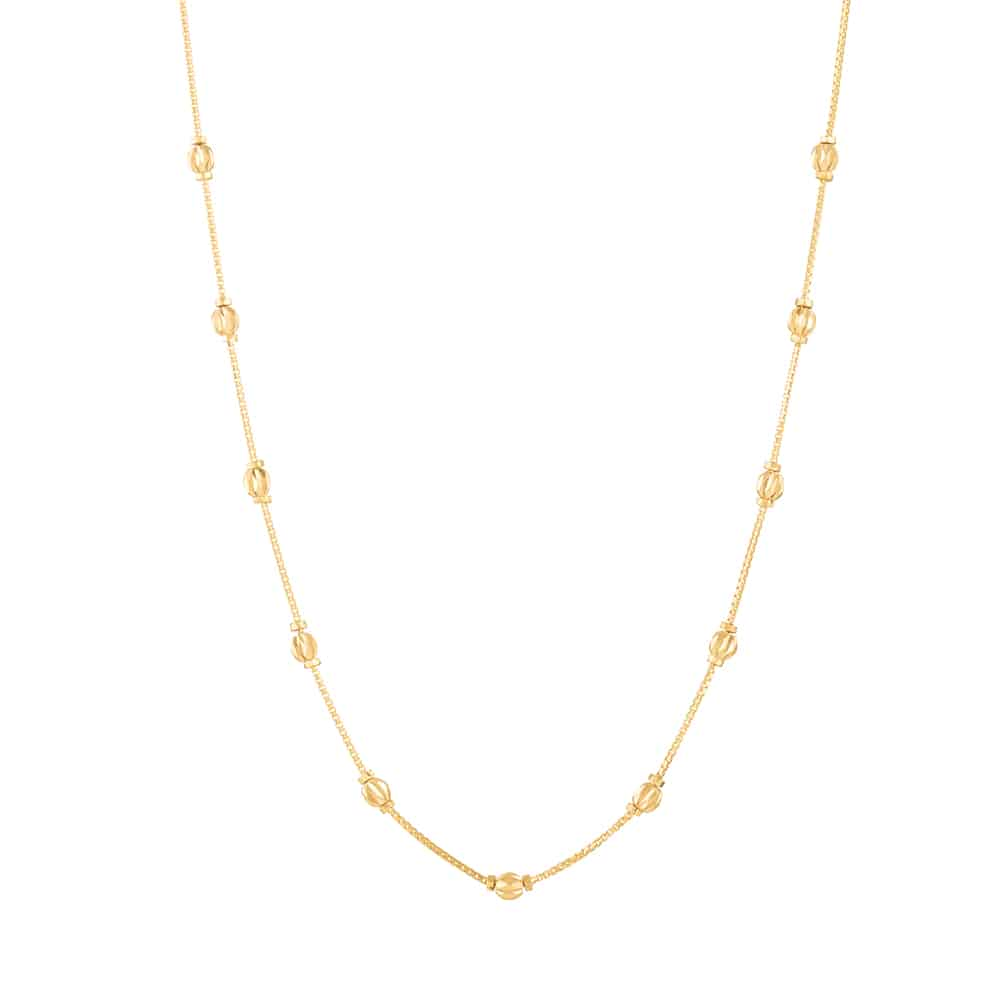 30881 - 22ct Gold Choker Chain with Balls