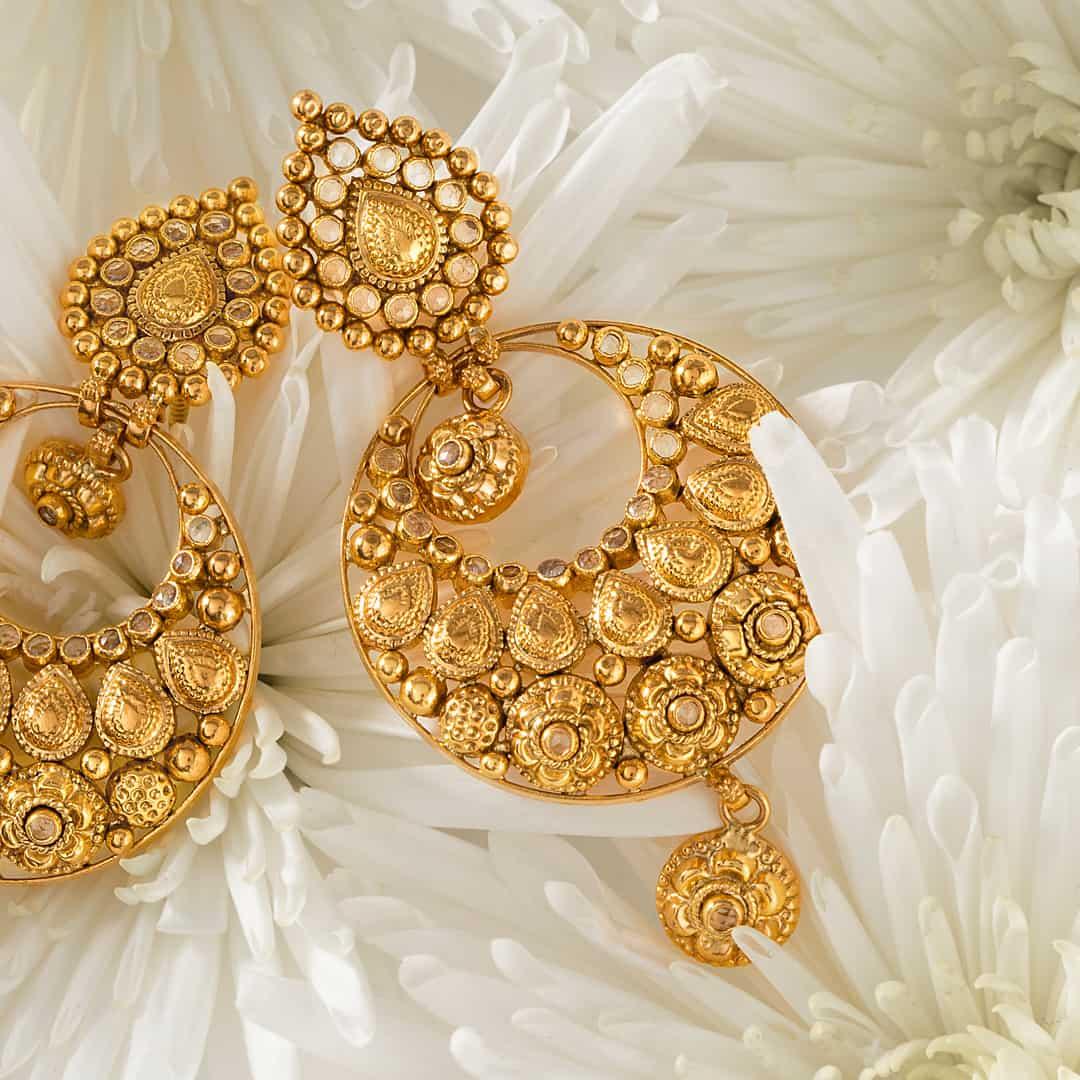 30949 - 22ct Gold Armari Earrings