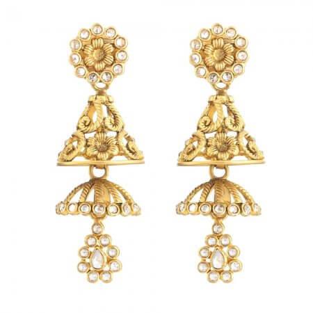 31102 - 22 Carat Gold Earrings UK