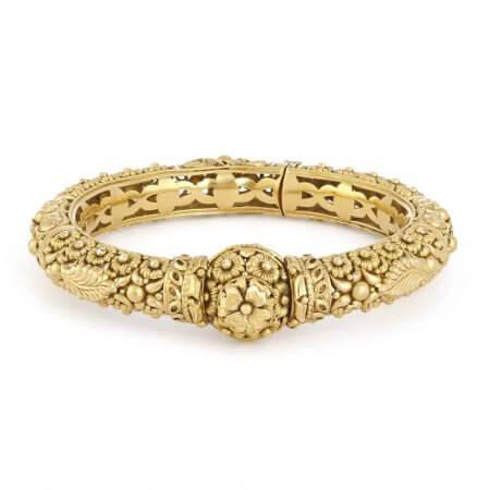 31114 - 22 Carat Gold Bridal Kada
