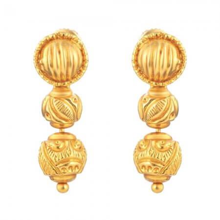 31164 - 22 Carat Gold Earring