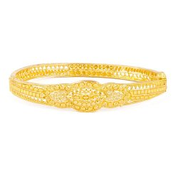27481 - 22ct Gold Indian Single Bangle