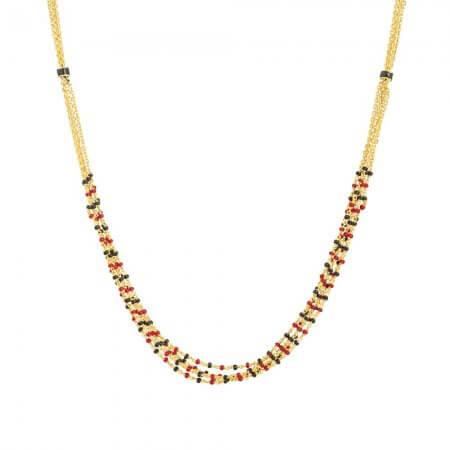 30959 - 22ct British Hallmarked Gold Mangalsutra