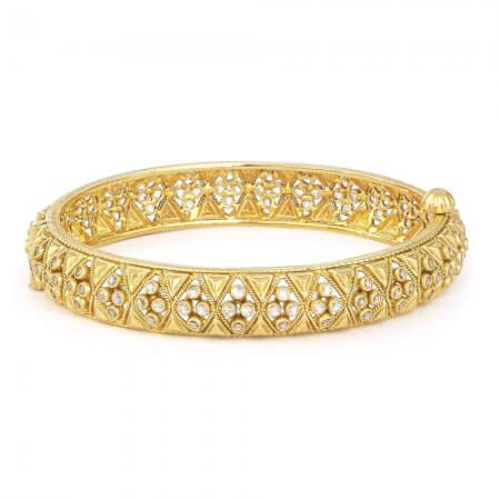 30962, 30964 - 22ct Asian Gold Kada