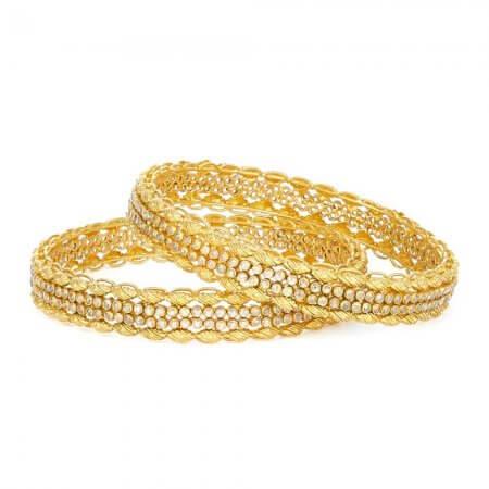 30965,30963 - 22ct Asian Gold Kada