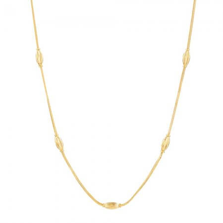 31124 - 22 Carat Gold Choker chain in 18 Inches