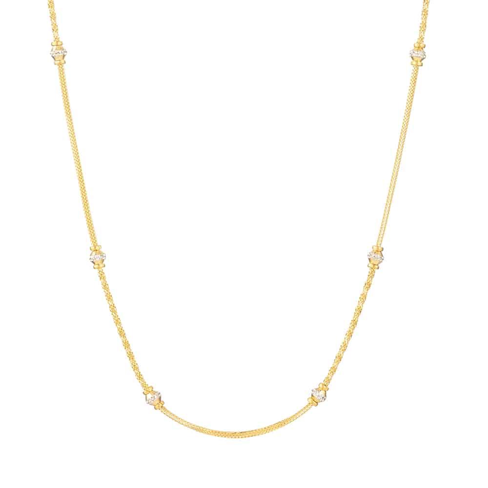 31126 - 22 Carat Gold Choker chain