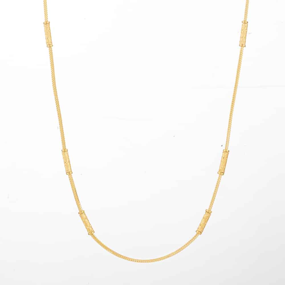 31128 - 22 Kt Gold Choker chain