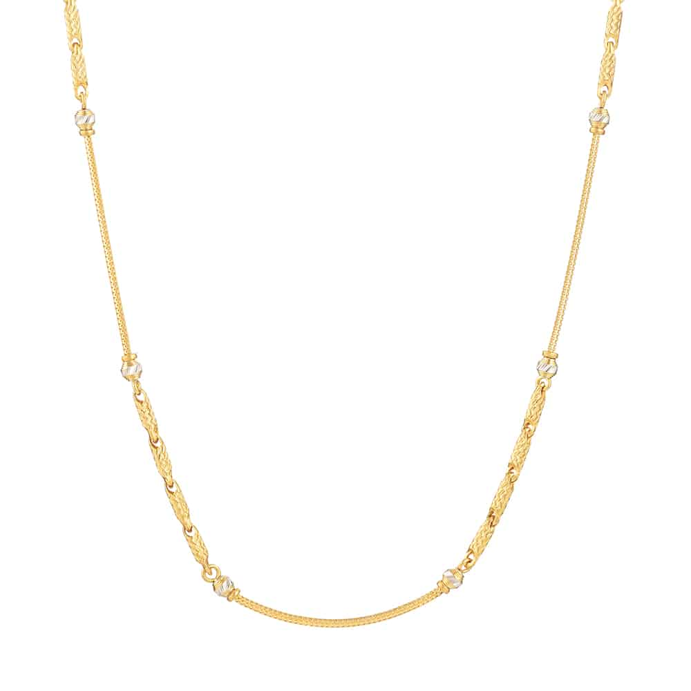 31132 - 22ct Yellow Indian Gold Chain