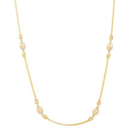 31135 - 22 Carat Gold Choker Chain