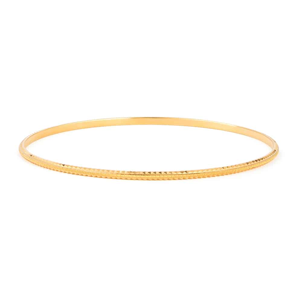 22ct Gold Bangle 31158