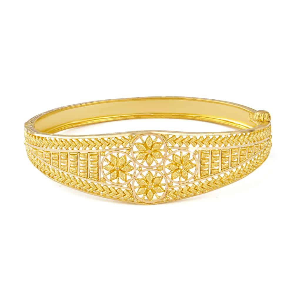 31231 - 22ct Gold Single Bangle