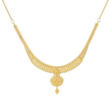 31242 - 22ct British Hallmarked Bridal Necklace