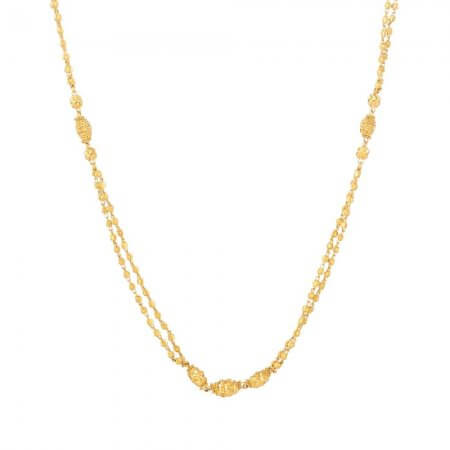 31244 - 22ct Gold Chain with Balls