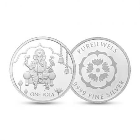 PureJewels' Ganesh Silver Tola - PureJewels' Ganesh Silver Tola