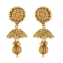 31236 - 22ct Gold Indian Bridal Earring