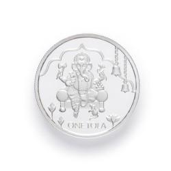 PureJewels' Ganesh Silver Tola-1