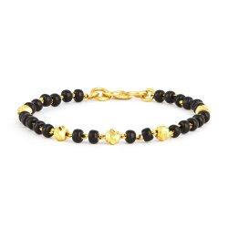 30979,30980 - 22ct Gold Baby Bracelet