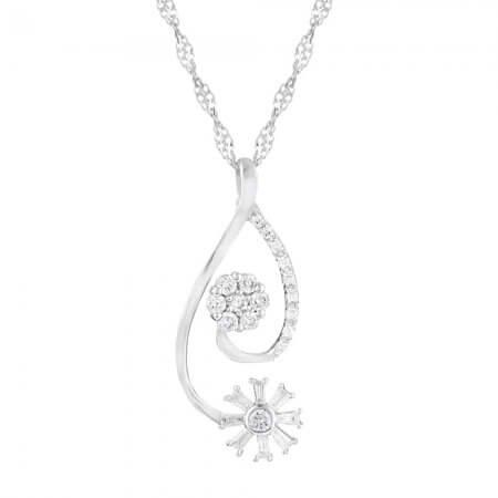 31091 - 18ct Diamond Pendant