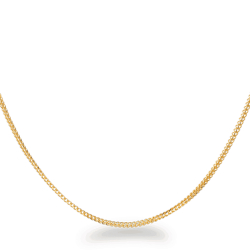31142,31144,31753 - 22ct Gold Foxtail Chain in 20 Inches