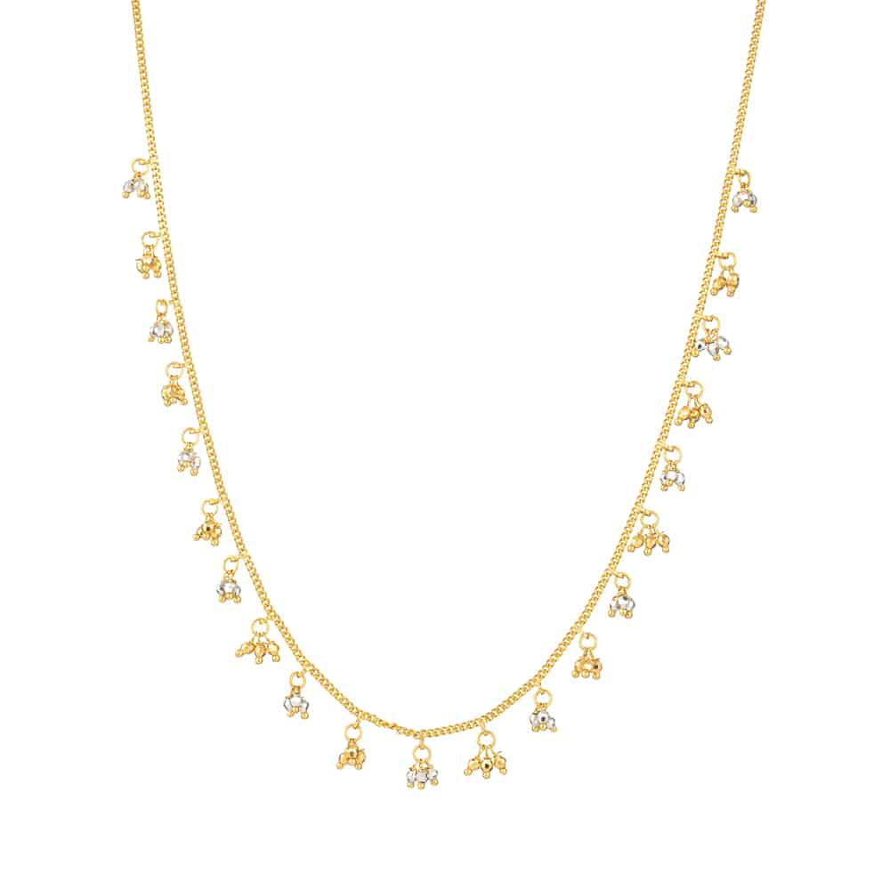 31713 - Gold Choker Necklace In 22ct