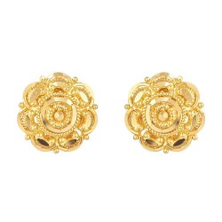 31727 - 22 Carat Yellow Gold Stud Earring