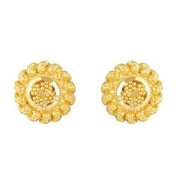 31732 - 22 Carat Yellow Gold Stud Earring