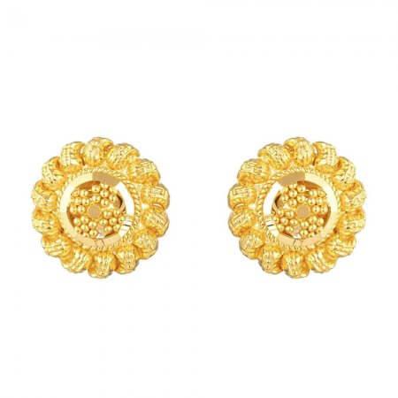31732 - 22 Carat Yellow Gold Stud Earring