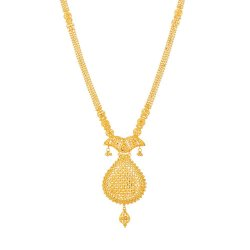 31917 - Jali 22ct Gold Filigree Necklace