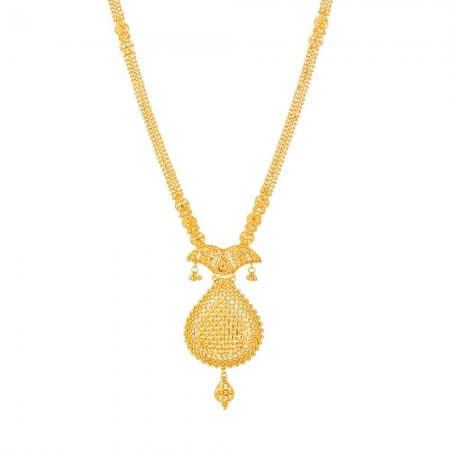 31917 - Jali 22ct Gold Filigree Necklace
