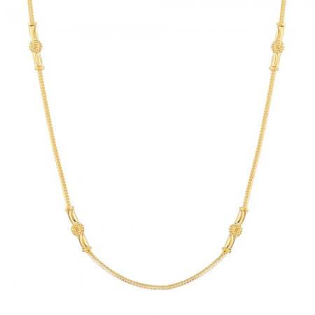 31970 - Gold Choker Neckalce
