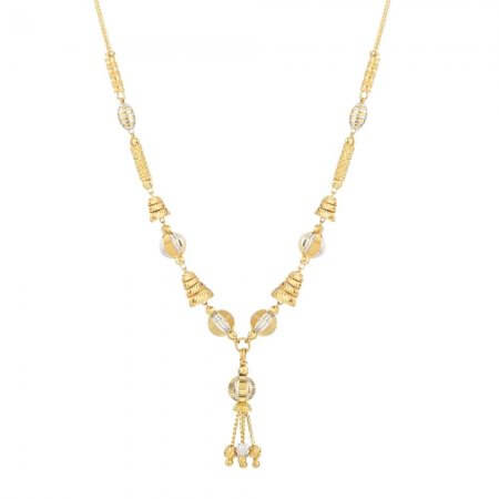 31961 - 22ct Gold Choker Necklace with Balls
