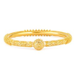 31921, 31920 - 22ct Gold Jali Filigree Bangle