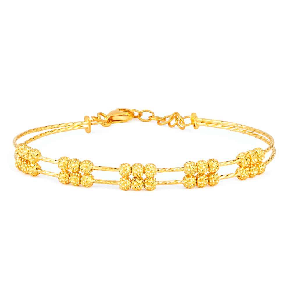 22ct Gold Bracelet for Women - (SKU:31940) - Purejewels