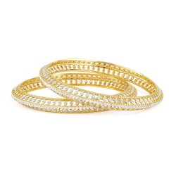 32008,32009 - 22ct Gold Kada Bangle Set