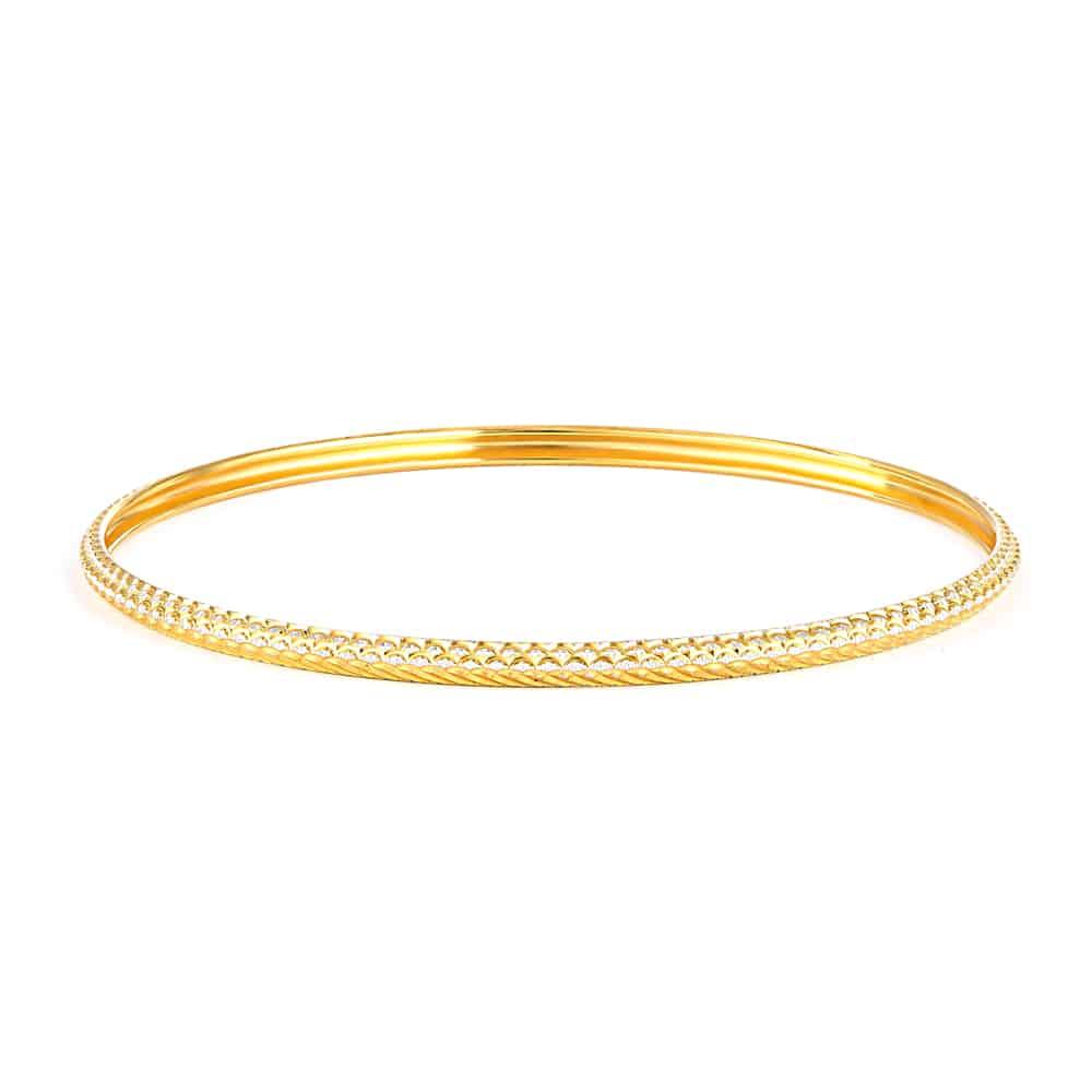 32024 - 22ct Gold Single Bangle