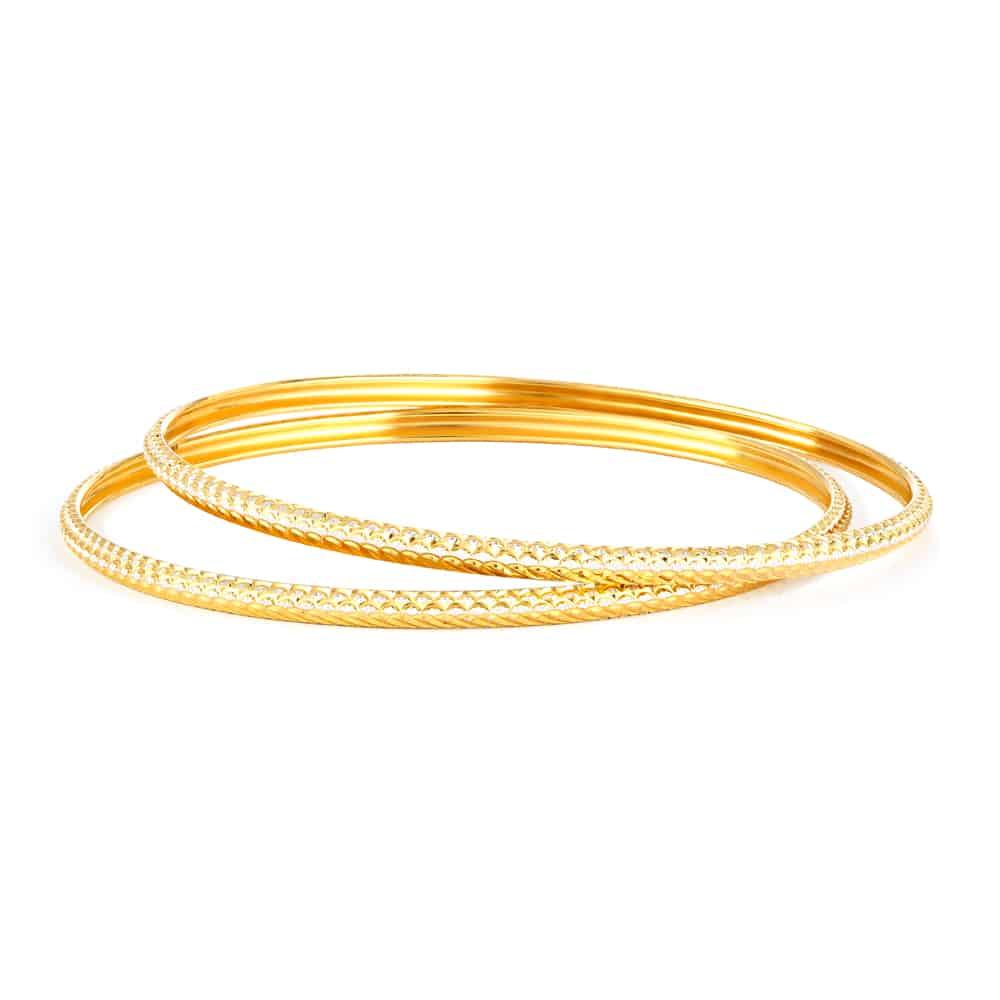 32024,32022 - 22ct Gold Bangles Set