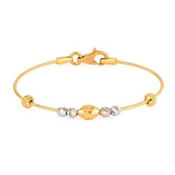 32036,32037 - 22ct Gold Baby Bangle