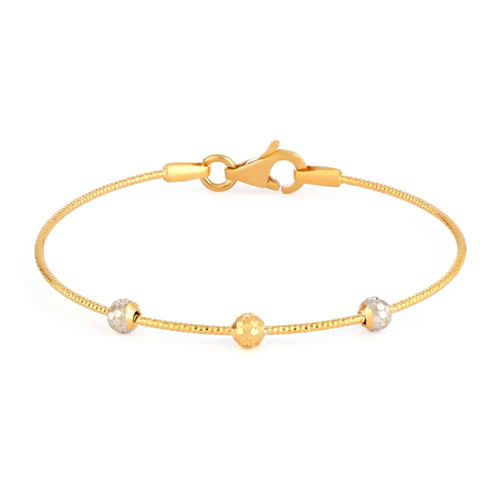 32039,32038 - 22ct Gold Baby Bangle